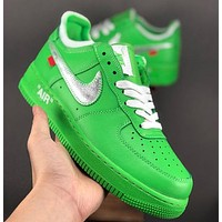OFF-White x NIKE Air Force 1 OW Sneakers Sport Shoes