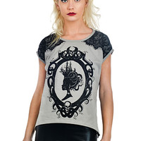 Mistress of the Sea Victorian Cameo Blouse