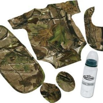 Realtree 5 Piece Baby Set