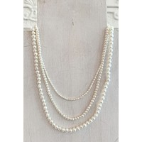CNJ Island Strand Pearl Necklaces