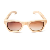 UGMONK X VERDE STYLES BAMBOO SUNGLASSES (NATURAL)