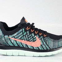 Nike Men's Free 4.0 Flyknit 2015 Night Factor Hyper Jade