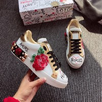 D&G Dolce&Gabbana Women Sneakers Sport Shoes Size 36-40