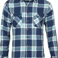 slim fit flanell