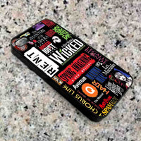Broadway Musical Collage iPhone Case For - iPhone 4 Case/iPhone 5 Case/iPhone 5C Case/iPhone 6 Case/ipod touch 5 case
