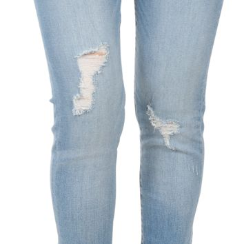 Distressed legs Washed Ankle Skinny