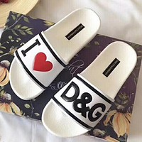 Dolce&Gabbana Women Fashion Casual Slipper Shoes