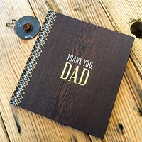 Thank You, Dad Gift Book