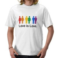 Love is Love Shirts from Zazzle.com