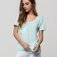 OTHERS FOLLOW Womens Pocket Tee | Cabin Romance