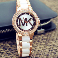 Ladies Watch women's fashion ceramic bracelet bracelet = 10339849354