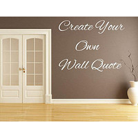 Letters For Walls - Inspirational Wall Decals