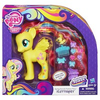 My Little Pony Styling Strands Fashion Pony Fluttershy Figure, 6-Inch