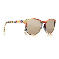 TIE DYE EFFECT ROUND SUNGLASSES - Sunglasses & Glasses - Shoes and Accessories - TOPMAN USA