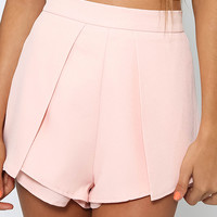 Don't Think Twice Shorts - Pink