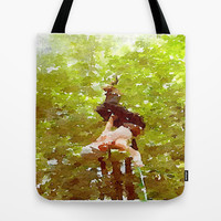 Adventure Tote Bag by Elyse Notarianni