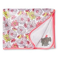 Just One You™ Made by Carter's® Baby Girls' Floral Elephant Blanket - Multicolored