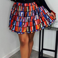 FENDI Newest Fashion Women Letter Print Skirt