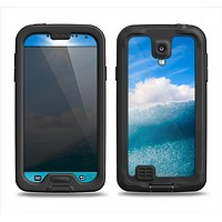 The Sunny Day Waves Samsung Galaxy S4 LifeProof Nuud Case Skin Set