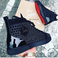 Christian louboutin Casual Breathable Stylish Sneakers9/18