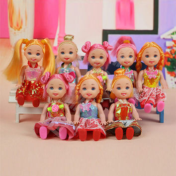 3.5 inch Popular High Original Toys for Girl Barbie Dolls with lots of Fashion Clothes and Everyday Dressing Gear