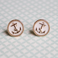 IN STOCK Set Sail stud earrings from Girls Day Out