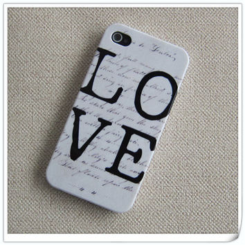 iPhone 4 case, iphone 4s case, iphone covers cases for iphone 4 4s - unique sneaker pattern iphone case
