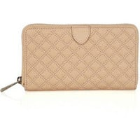 Marc Jacobs|Hudson quilted leather wallet|NET-A-PORTER.COM