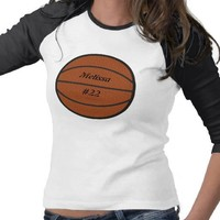 Basketball Shirt from Zazzle.com