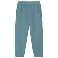 Stock Logo Sweatpant in Teal