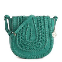 Big Buddha JSBaker Saddle Flap Mini Cross Body Bag