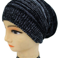 Slouched Beanie Black