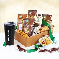 Starbucks Holiday Go Gift Basket