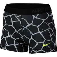 Nike Women's 3'' Pro Giraffe Printed Compression Shorts | DICK'S Sporting Goods