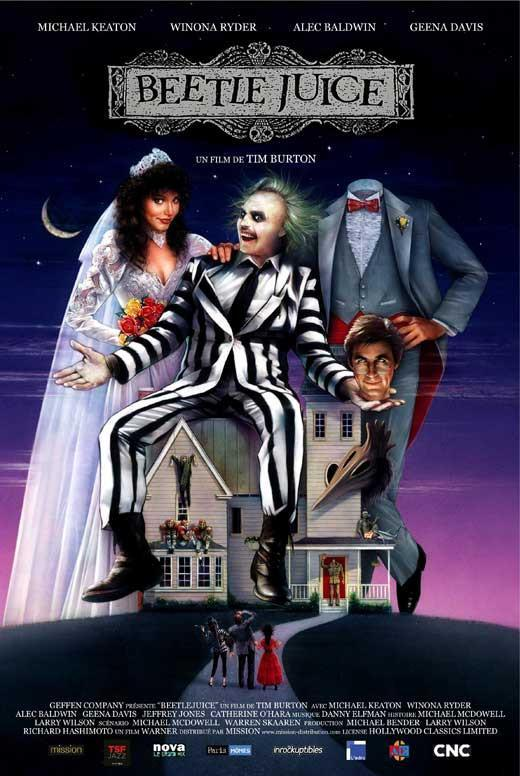 Image of Beetlejuice (French) 27x40 Movie Poster (1988)