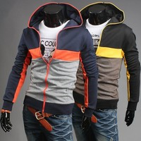 Winter Men's Fashion Hoodies Men Hats Casual Jacket [6528675587]