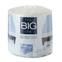The Big One 1 1/2-in. Cooling Gel Memory Foam Mattress Topper