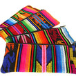Woven Tribal Fabric Pouches Bright Neon Colors by sweetllamasupplies
