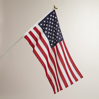 American Flag with Pole Kit - World Market