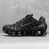 Nike Shox TL Fashion New Hook Sports Leisure Shoes Men Black
