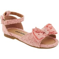 Old Navy Eyelet Flats For Baby