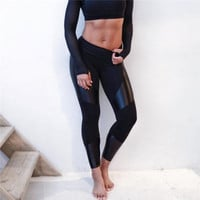 2016 Trending Fashion Women Casual Sport Trousers Pants Legging for Exercise Gym Yoga _ 10476