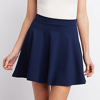 THE KYLE SKATER SKIRT- NAVY BLUE