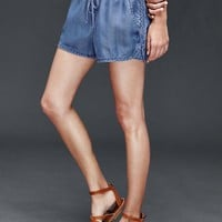 1969 Tencel® denim surf shorts