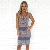 Pop The Bubbly Lace Bodycon Dress