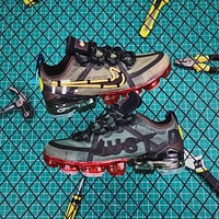 Nike Air Vapormax 2019 Cpfm Yellow Logo Mandarin Duck Shoes