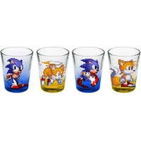 Sonic The Hedgehog - Shot Glass Set