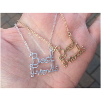 Best Friends Necklace - Gold or Silver