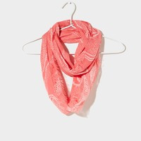 AEO Dot Printed Loop Scarf | American Eagle Outfitters
