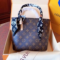 Louis Vuitton Fashion Women Shopping Bag Leather Handbag Tote Satchel Shoulder Bag